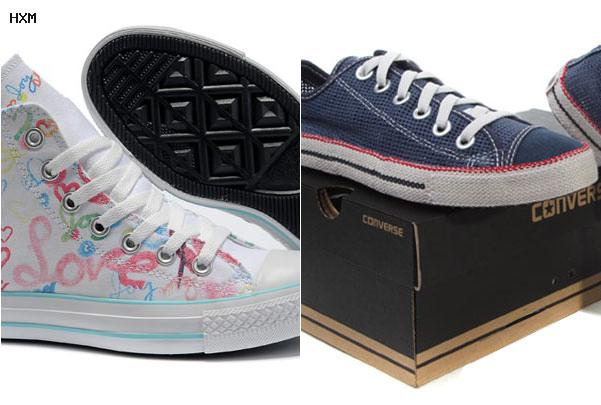 achat chaussures converse cuir