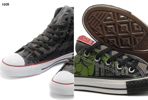 all star converse sans lacet