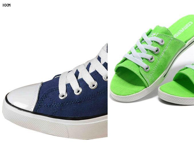 brune converse sko
