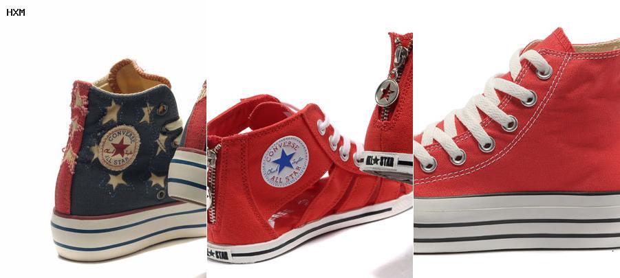chaussure a talon converse