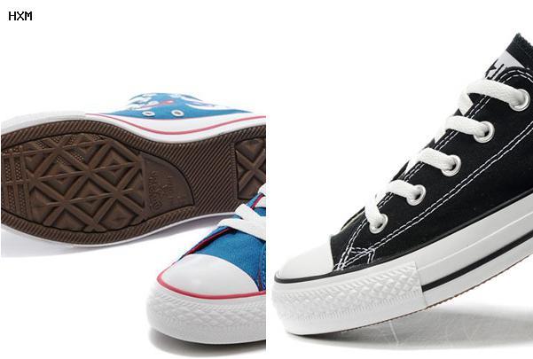 chaussure converse avec talon