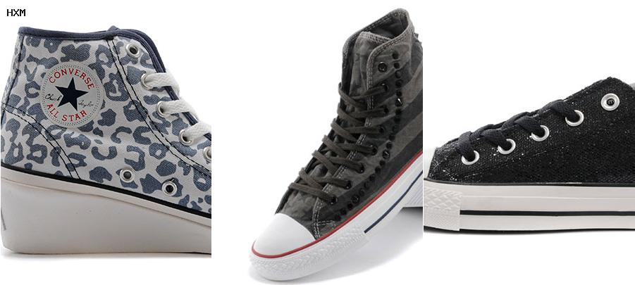 chaussure converse basse femme