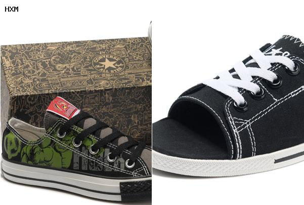 chaussure converse basse noir