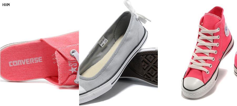 chaussure converse cuir noir basse