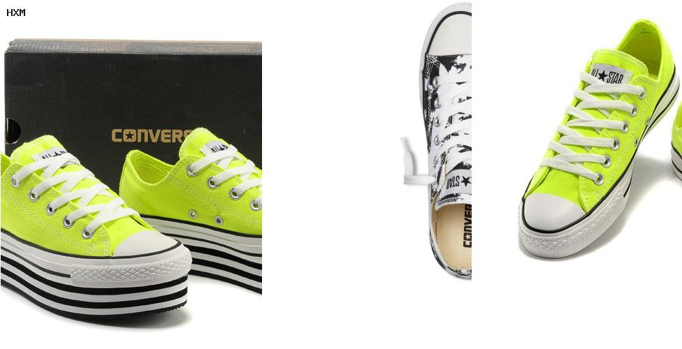 chaussure converse femme cuir