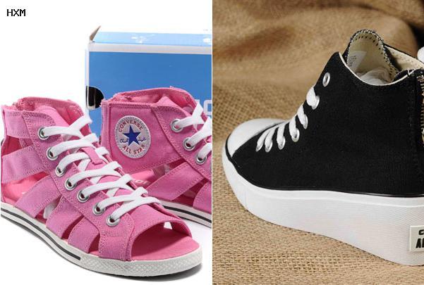 chaussure converse femme discount