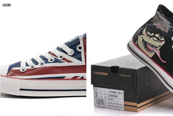 chaussure converse moins cher