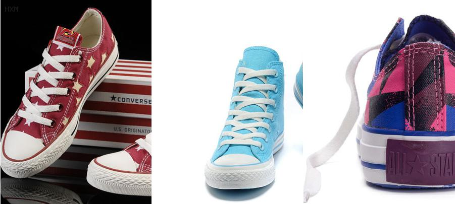 chaussure converse rose fluo