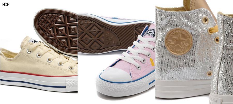 chaussure converse rose fushia
