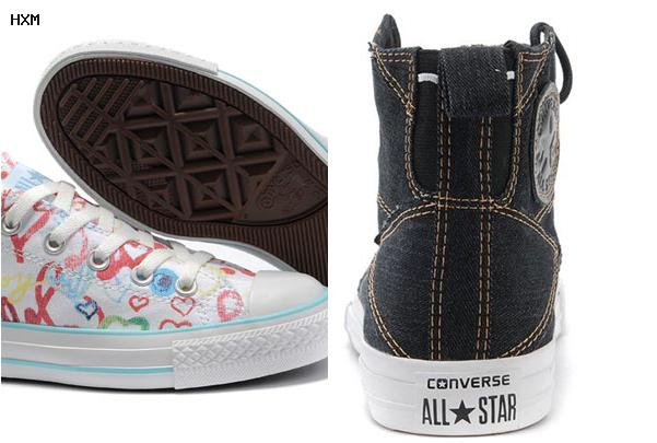 chaussures all star converse cuir