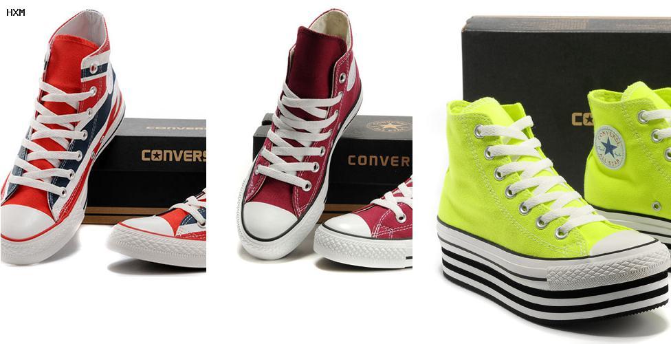 chaussures converse basse femme