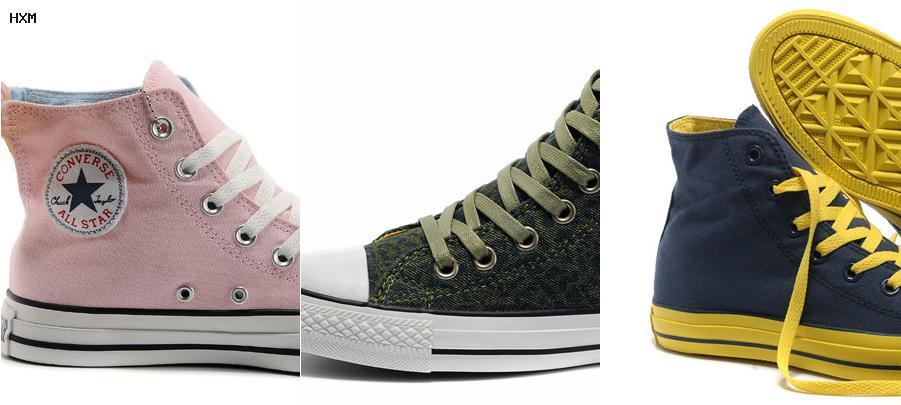 chaussures converse compensée