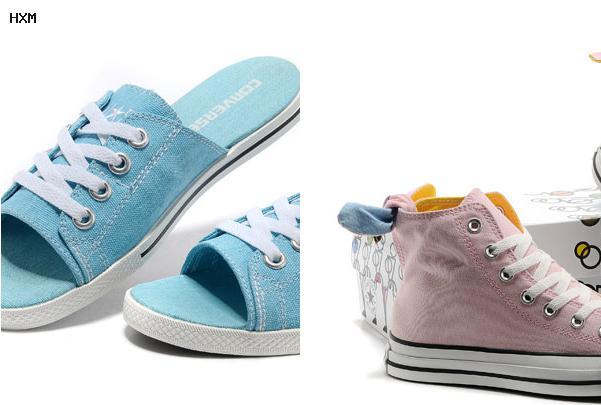 chaussures converse femme cuir