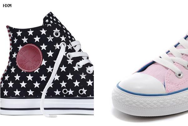 chaussures converse fourrées