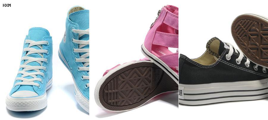 chaussures de sécurité style converse