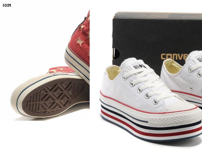 chaussures femme converse cuir