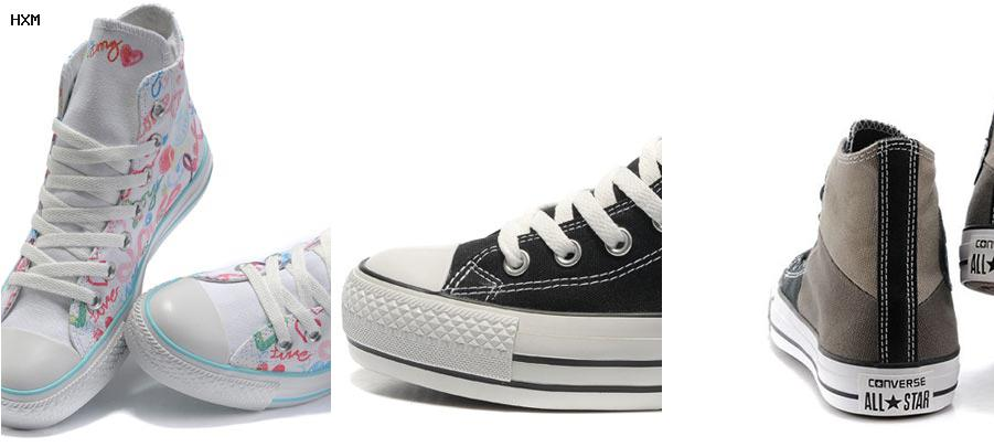 chaussures femme style converse