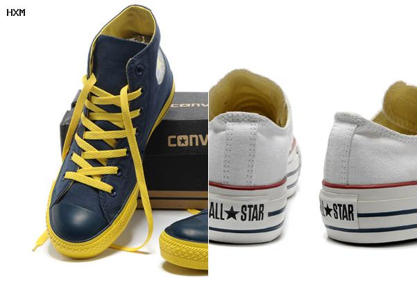 chaussures guess style converse