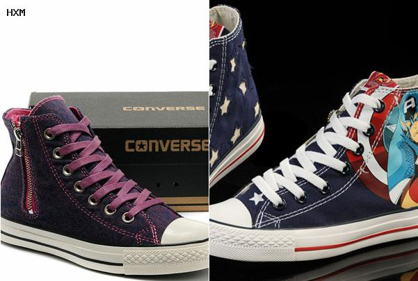 converse all star cuir solde