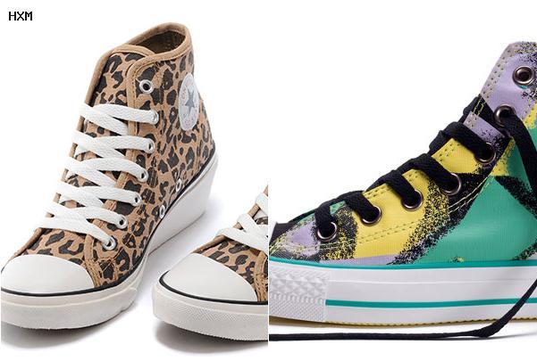 converse fantaisie chaussure
