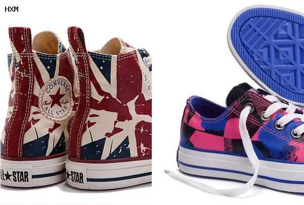 converse all star vertes