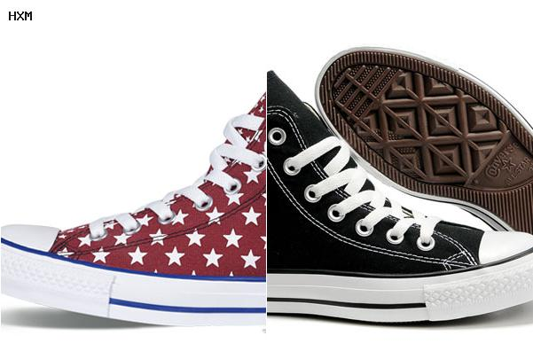 converse americaine flag