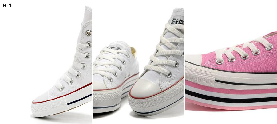 converse basse all star ox