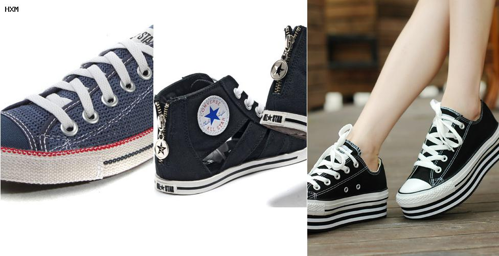 converse blanches 36