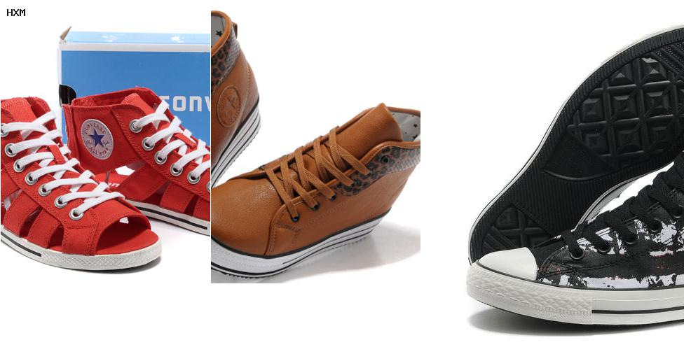 converse chaussure femme