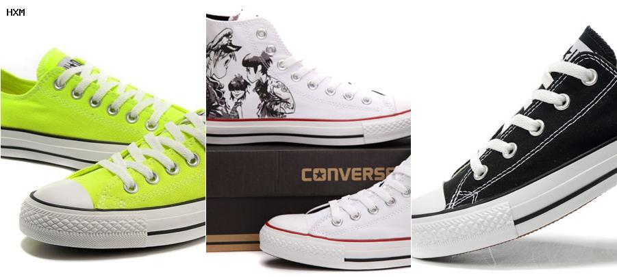 converse cuir taille 38