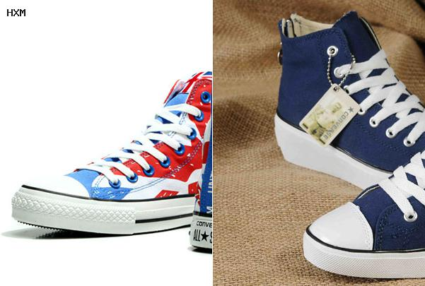 converse femme taille 38