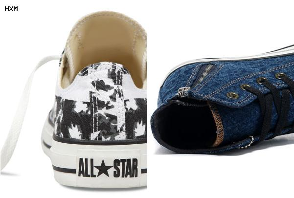 converse toile basse homme