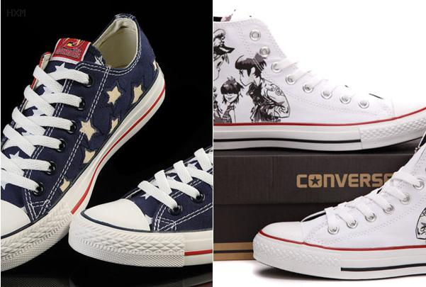 converse union jack sneakers