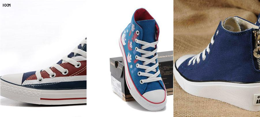 converse union jack trainers