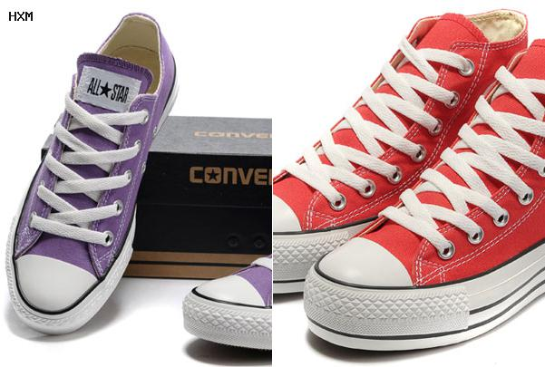 fausse converse rouge