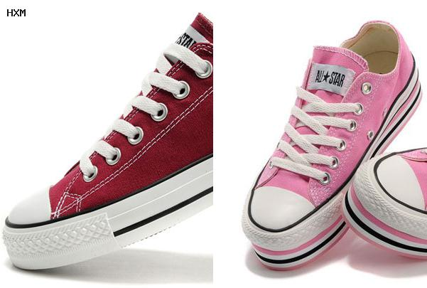 les chaussures converse