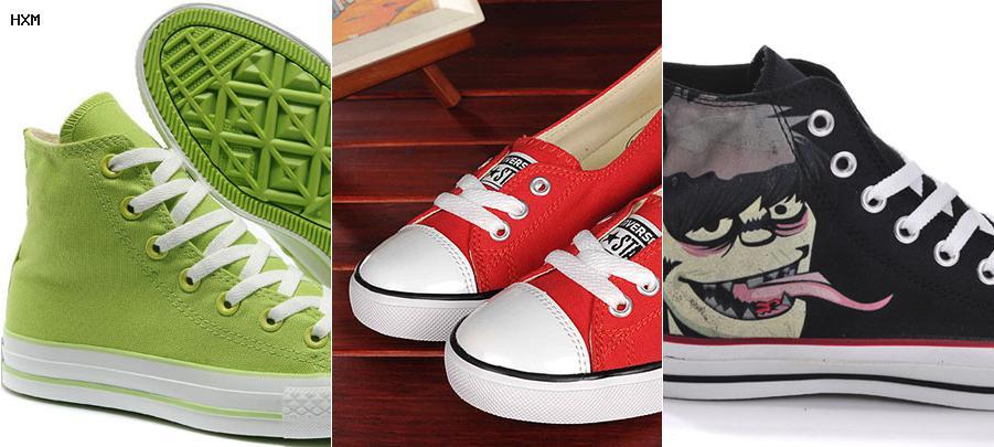 magasin chaussure converse paris