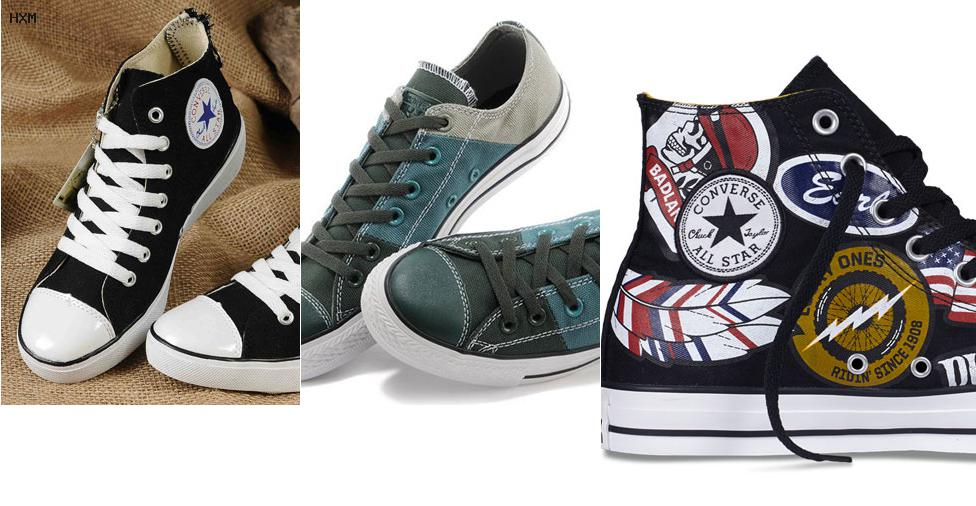 soldes converse blanches