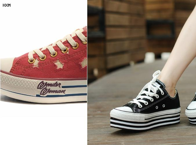 taille américaine chaussure femme converse