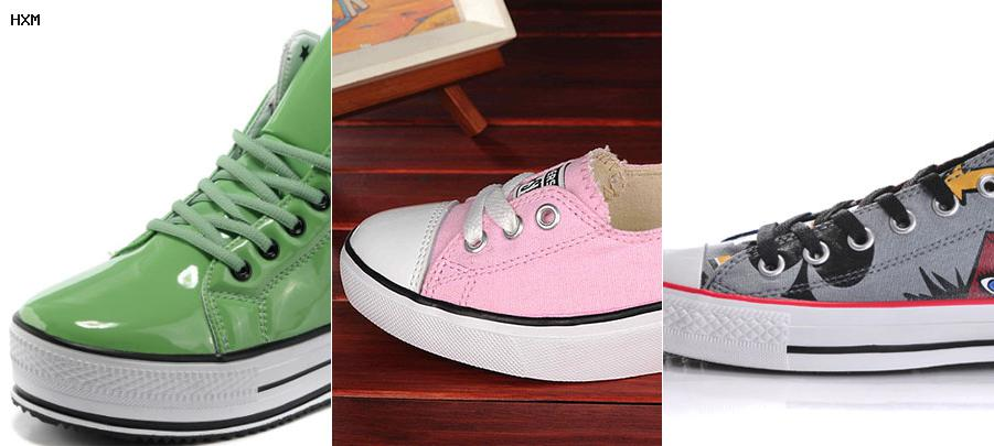 taille chaussures converse femme