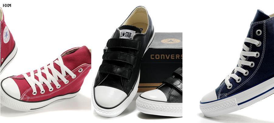 taille chaussures converse homme